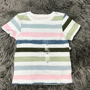 Epic Threads | Boy's T-shirt | White | Stripes |